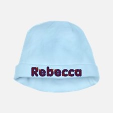 Rebecca Red Caps baby hat