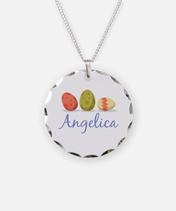 Easter Egg Angelica Necklace