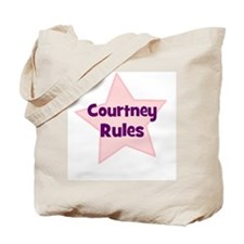 Courtney Rules Tote Bag