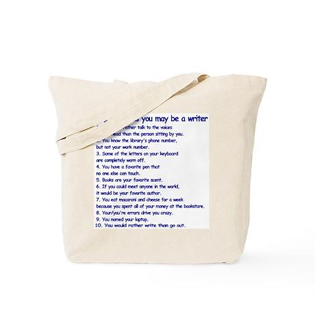 Writer Clues Writing Tote Bag
