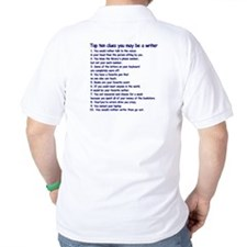 Writer Clues Writing T-Shirt