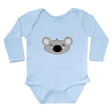 Koala Face (txt) Body Suit