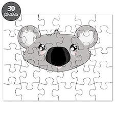 Koala Face (txt) Puzzle