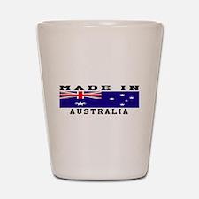 Australia Made In Shot Glass