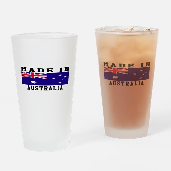 Australia Made In Drinking Glass