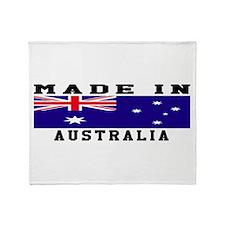 Australia Made In Throw Blanket