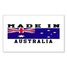 Australia Made In Decal