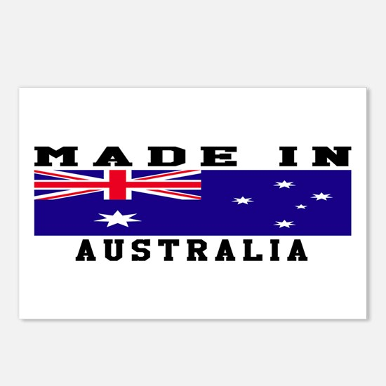 Australia Made In Postcards (Package of 8)