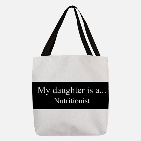 Daughter - Nutritionist Polyester Tote Bag