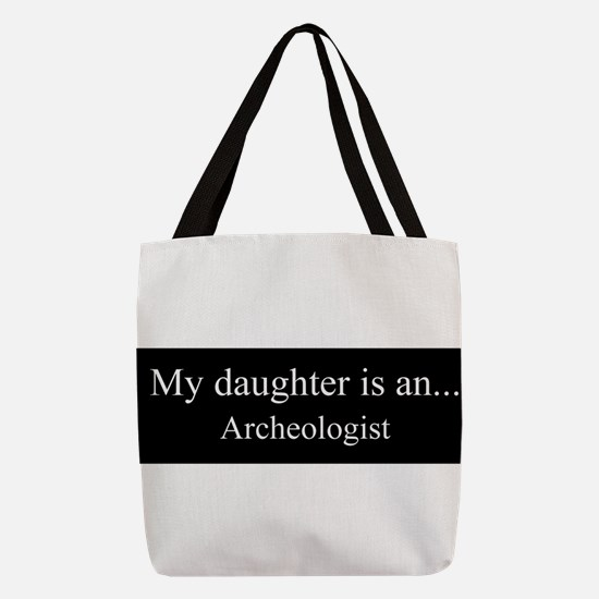 Daughter - Archeologist Polyester Tote Bag