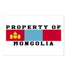 Property Of Mongolia Postcards (Package of 8)