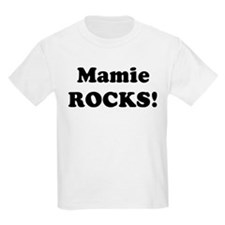Mamie Rocks! Kids T-Shirt
