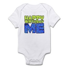 Happy Bday Me (blue) Infant Bodysuit