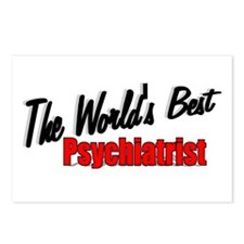 """The World's Best Psychiatrist"" Postcards (Package"