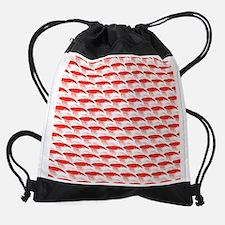 Krill Pattern Drawstring Bag