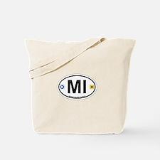 Marco Island - Oval Design. Tote Bag