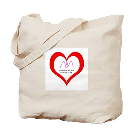 We Hold Her (1 Girl Angel) Tote Bag