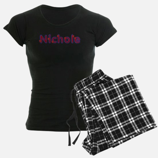 Nichole Red Caps Pajamas