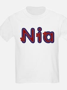 Nia Red Caps T-Shirt