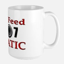 Live Feed Fanatic Large Mug