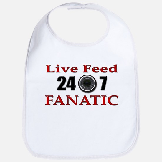 Live Feed Fanatic Bib