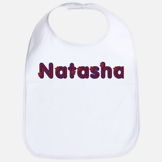 Natasha Red Caps Bib