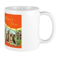 Hartford Connecticut Greetings Mug