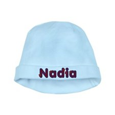 Nadia Red Caps baby hat