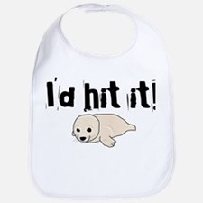 I'd hit it! seal clubbing Bib