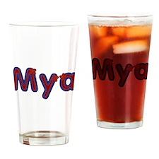 Mya Red Caps Drinking Glass
