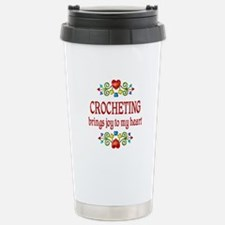 Crocheting Joy Travel Mug