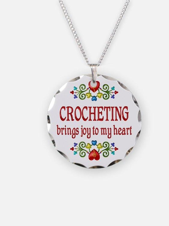 Crocheting Joy Necklace