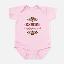 Crocheting Joy Infant Bodysuit
