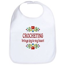 Crocheting Joy Bib