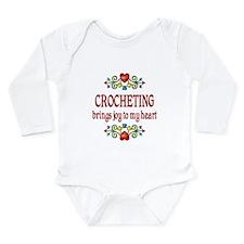 Crocheting Joy Long Sleeve Infant Bodysuit