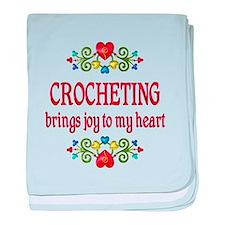 Crocheting Joy baby blanket