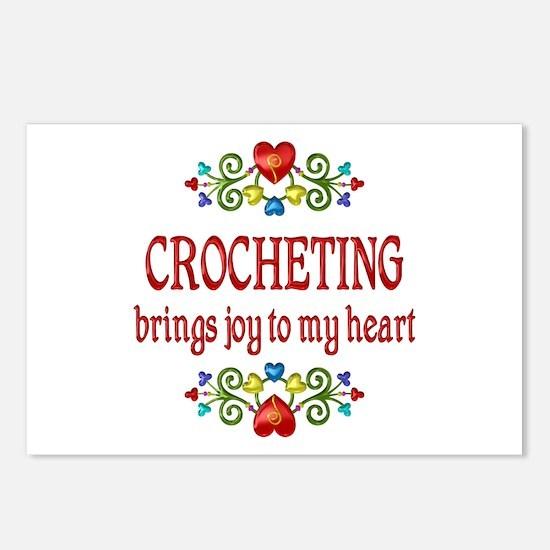 Crocheting Joy Postcards (Package of 8)