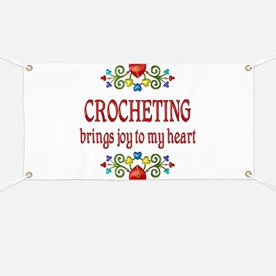 Crocheting Joy Banner
