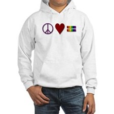 Peace, Love, Equality Hoodie