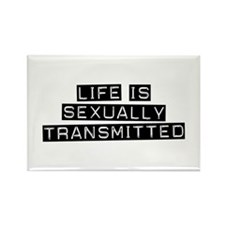 Sexually Transmitted Rectangle Magnet