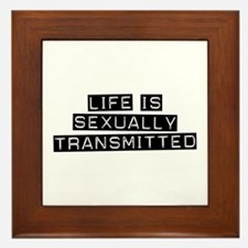 Sexually Transmitted Framed Tile