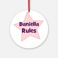 Daniella Rules Ornament (Round)