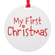 My First Christmas Ornament