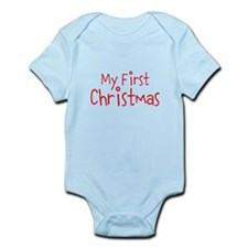 My First Christmas Body Suit