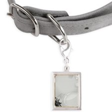LiquidLibrary Small Portrait Pet Tag