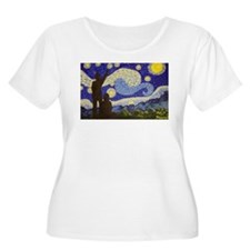 Dr. Starry Night Plus Size T-Shirt