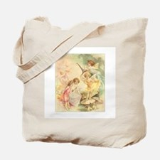 Fairies on Toadstools Tote Bag