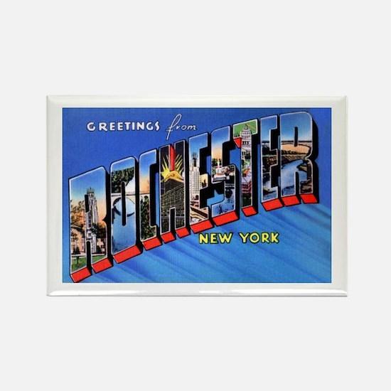Rochester New York Greetings Rectangle Magnet (10