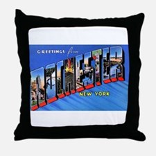 Rochester New York Greetings Throw Pillow