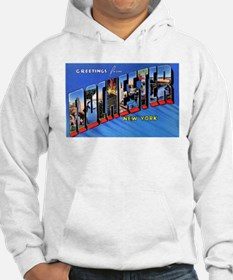 Rochester New York Greetings (Front) Hoodie